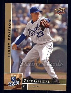 2009 Upper Deck First Edition #127  Zack Greinke