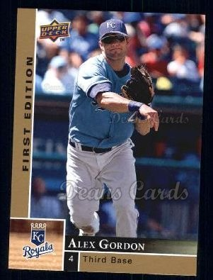 2009 Upper Deck First Edition #129  Alex Gordon