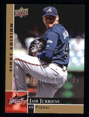 2009 Upper Deck First Edition #13  Jair Jurrjens