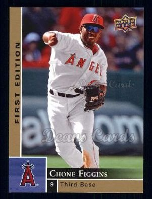 2009 Upper Deck First Edition #140  Chone Figgins