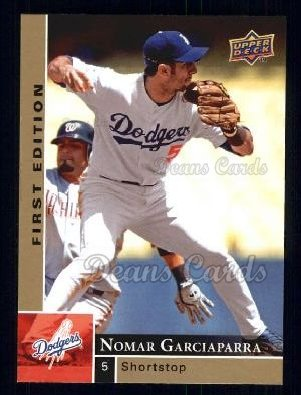 2009 Upper Deck First Edition #154  Nomar Garciaparra