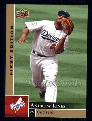 2009 Upper Deck First Edition #156  Andruw Jones
