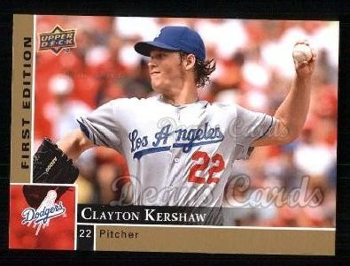 2009 Upper Deck First Edition #164  Clayton Kershaw