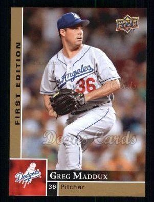 2009 Upper Deck First Edition #165  Greg Maddux