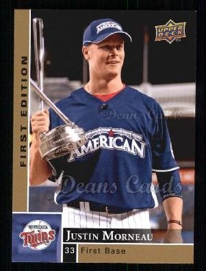 2009 Upper Deck First Edition #180  Justin Morneau