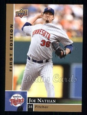 2009 Upper Deck First Edition #181  Joe Nathan