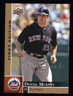 2009 Upper Deck First Edition #185  Daniel Murphy