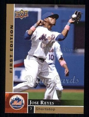 2009 Upper Deck First Edition #187  Jose Reyes