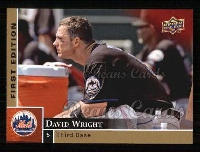 2009 Upper Deck First Edition #188  David Wright
