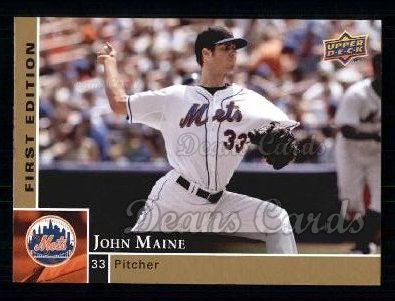 2009 Upper Deck First Edition #194  John Maine