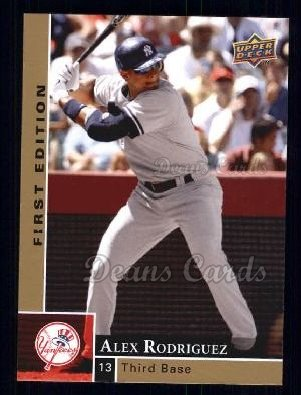 2009 Upper Deck First Edition #200  Alex Rodriguez