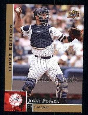 2009 Upper Deck First Edition #207  Jorge Posada
