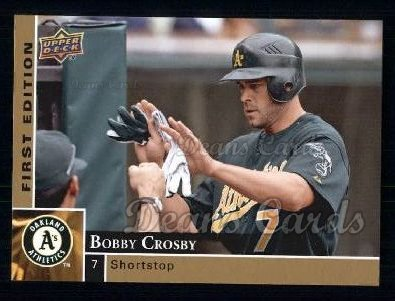 2009 Upper Deck First Edition #218  Bobby Crosby