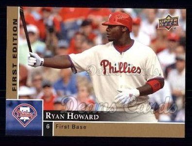 2009 Upper Deck First Edition #226  Ryan Howard
