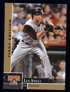 2009 Upper Deck First Edition #235  Ian Snell