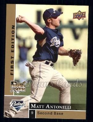 2009 Upper Deck First Edition #237  Matt Antonelli
