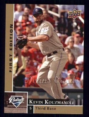 2009 Upper Deck First Edition #245  Kevin Kouzmanoff
