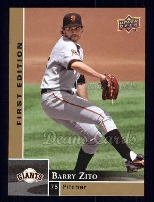 2009 Upper Deck First Edition #247  Barry Zito
