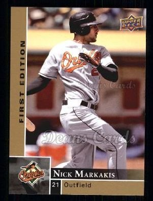 2009 Upper Deck First Edition #25  Nick Markakis