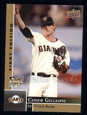 2009 Upper Deck First Edition #252  Conor Gillaspie