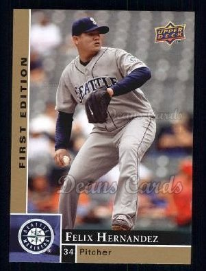 2009 Upper Deck First Edition #256  Felix Hernandez