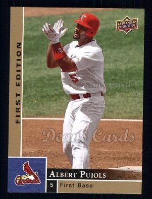 2009 Upper Deck First Edition #264  Albert Pujols