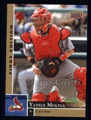 2009 Upper Deck First Edition #272  Yadier Molina