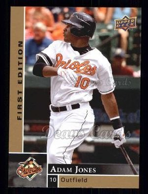 2009 Upper Deck First Edition #28  Adam Jones
