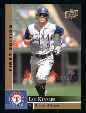 2009 Upper Deck First Edition #284  Ian Kinsler