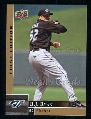 2009 Upper Deck First Edition #295  B.J. Ryan