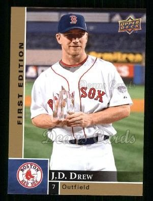 2009 Upper Deck First Edition #37  J.D. Drew