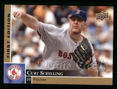 2009 Upper Deck First Edition #40  Curt Schilling
