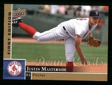 2009 Upper Deck First Edition #52  Justin Masterson