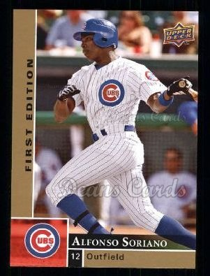 2009 Upper Deck First Edition #54  Alfonso Soriano