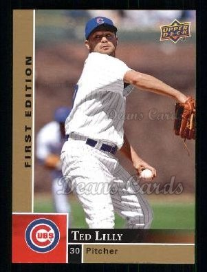 2009 Upper Deck First Edition #61  Ted Lilly