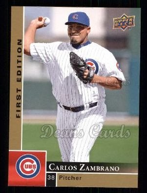 2009 Upper Deck First Edition #62  Carlos Zambrano