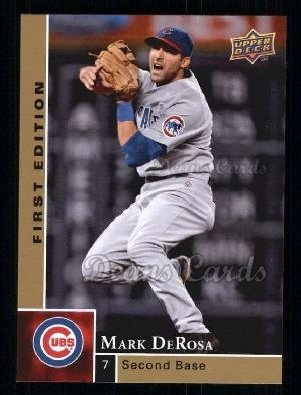 2009 Upper Deck First Edition #64  Mark DeRosa