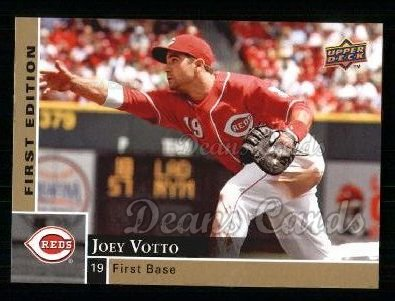 2009 Upper Deck First Edition #84  Joey Votto