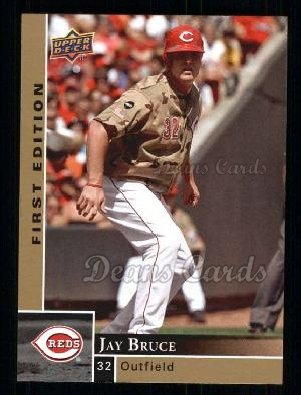 2009 Upper Deck First Edition #85  Jay Bruce