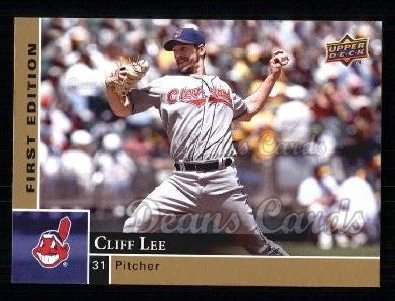 2009 Upper Deck First Edition #89  Cliff Lee