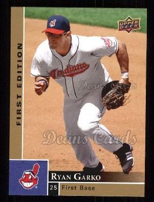 2009 Upper Deck First Edition #90  Ryan Garko