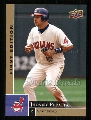 2009 Upper Deck First Edition #91  Jhonny Peralta