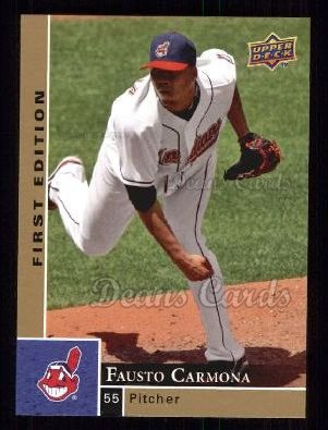 2009 Upper Deck First Edition #92  Fausto Carmona