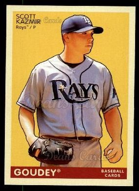 2009 Upper Deck Goudey #186  Scott Kazmir