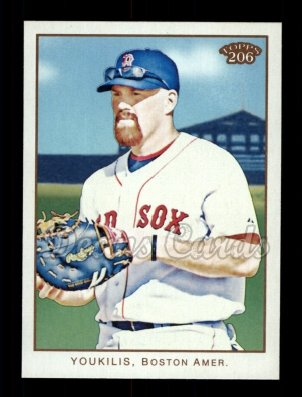 2009 Topps 206 #118  Kevin Youkilis