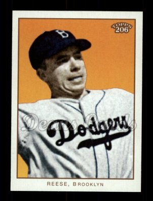 2009 Topps 206 #177 A Pee Wee Reese