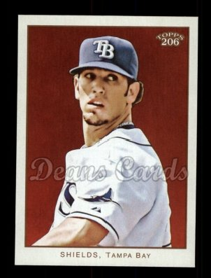 2009 Topps 206 #236  James Shields
