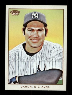 2009 Topps 206 #261  Johnny Damon