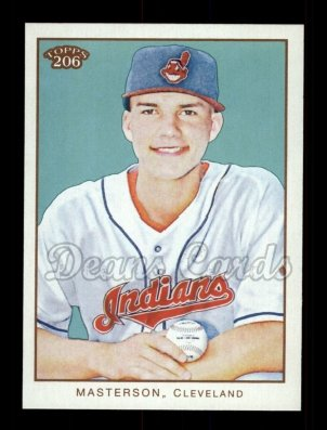 2009 Topps 206 #275  Justin Masterson