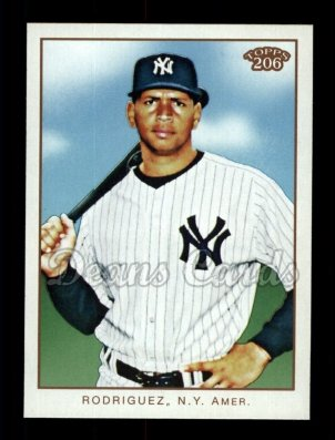 2009 Topps 206 #90 A Alex Rodriguez